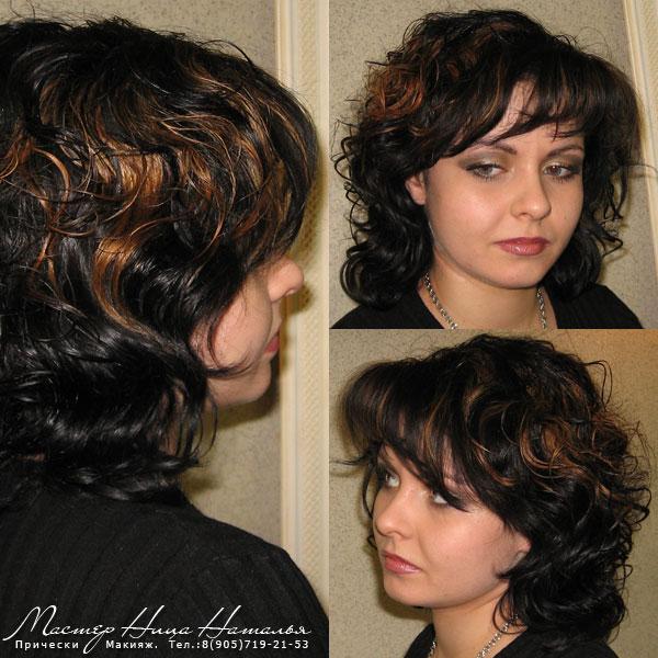 Укладка волос на прическу каскад